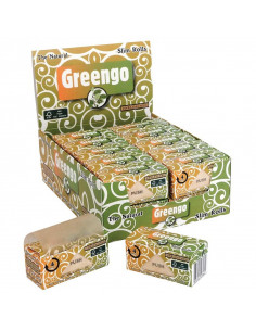 GREENGO UNBLEACHED SLIM ROLLS 44 MM