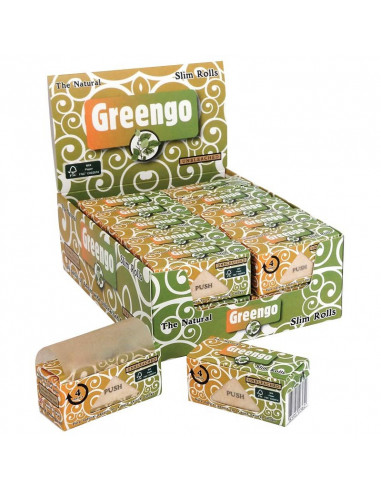 Tissue paper on a roll GREENGO Slim Rolls 4 m
