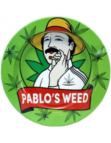 Metalowa popielniczka Pablo's Weed