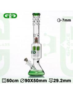 BEAKER GG BONG GREEN 50cm...