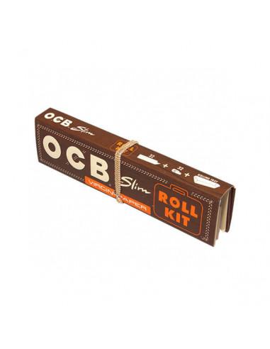 Bibułki OCB Virgin Slim Roll Kit z...