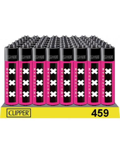 Clipper XXX Pink Amsterdam lighter