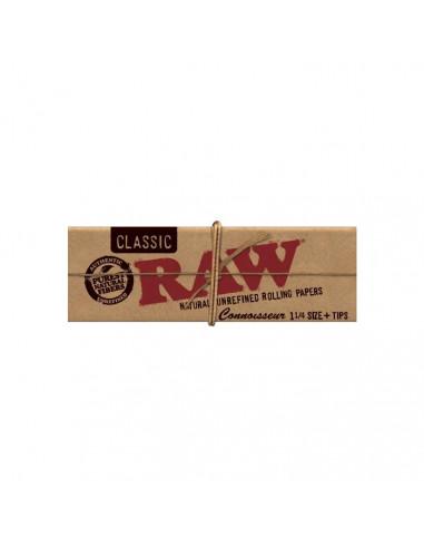 RAW Connoisseur Organic 1 1/4 z...