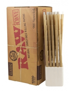 RAW Pre-rolled Cones 1000...