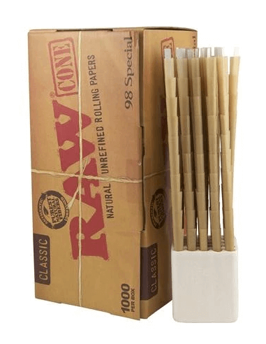 RAW Pre-rolled Cones 1000 szt....