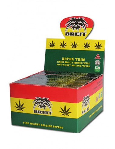 'Breit' Rasta KS Slim Bibułki Ultra Thin