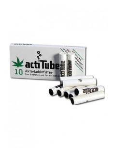 Obraz produktu: actitube tune aktywne filtry węglowe slim do jointów fajek 10szt