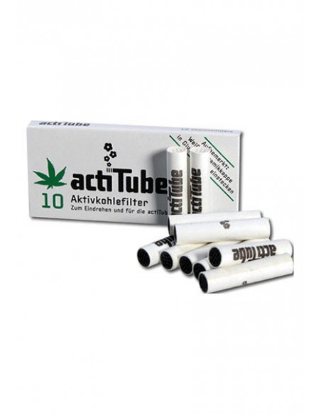 ActiTube Tune active carbon filters slim for joints, pipes 10 pcs