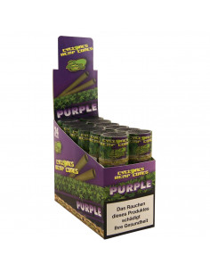 cyclones Blunts Purple 2 pcs. - Ready, twisted flavor blunts.