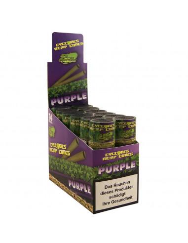 cyclones Blunts Purple 2 szt. - Gotowe, skręcone blunty smakowe.