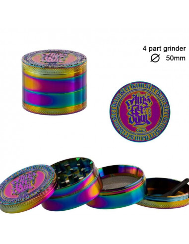 Grinder Grace Glass Amsterdam Rainbow...