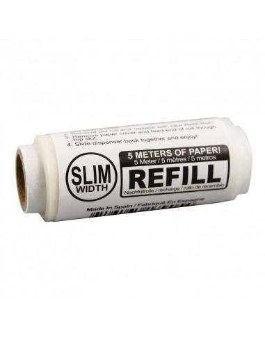 Wkłady ELEMENTS ROLLS SLIM width 5m REFILL bibułki ultracienkie ryżowe
