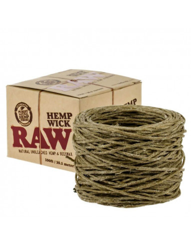 Knot konopny RAW Hemp Wick Ball 3.5 m