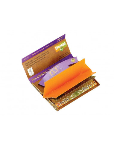 GreenGo FLY Colab King Size Slim tissue paper set with a tray and filters