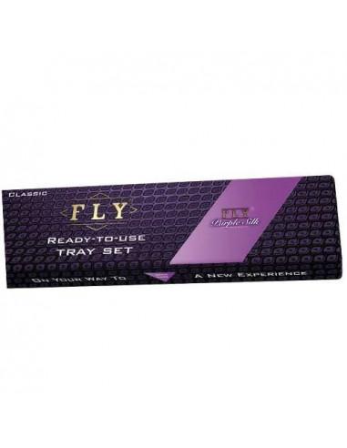 Bibułki FLY Purple Silk Try Set -...