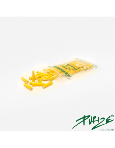 Active carbon filters Purize XTRA Slim Yellow 50 pcs.