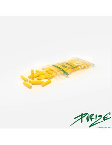 Filtry z aktywnym węglem Purize XTRA Slim Yellow 50 szt.