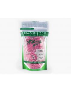 Filtry z aktywnym węglem Purize XTRA Slim Pink 250 szt.