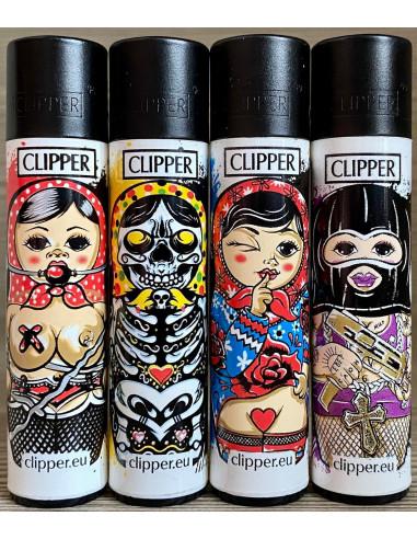 Zapalniczka Clipper wzór  MATRJOSCHKAS