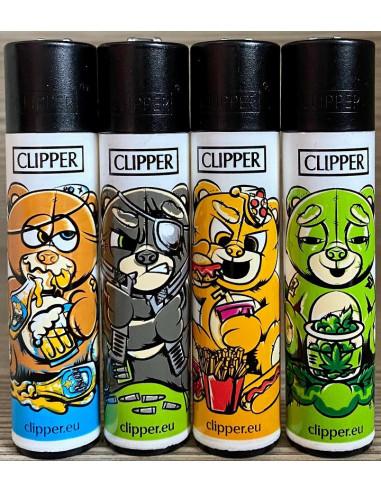 Zapalniczka Clipper wzór BAD TEDDIES
