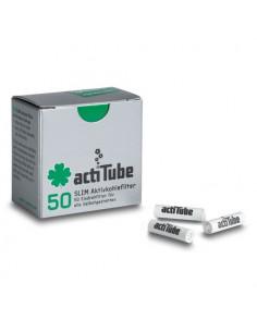 ActiTube Tune aktywne filtry węglowe slim do jointów fajek 50szt