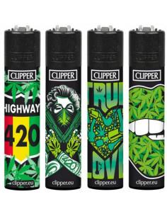 Zapalniczka Clipper wzór GIRL WEED
