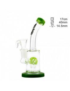 Bongo Thug Life Birdy Green z perkolatorem wys. 17 cm szlif 14.5 mm