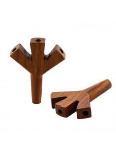 Potrójna lufka drewniana...