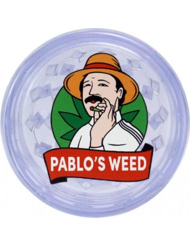 Grinder akrylowy Pablo's Weed transparentny