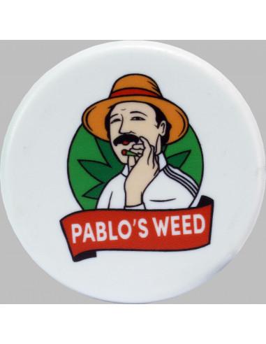 Grinder do suszu akrylowy Pablo's Weed biały