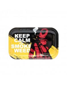 Keep Calm and Smoke Weed MEDIUM joint tray