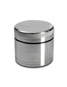 Grinder do suszu 4-częściowy metalowy srebrny
