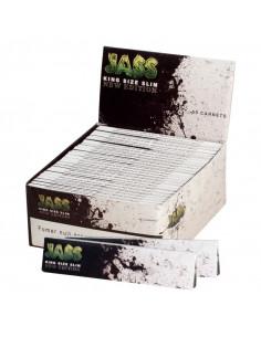 Obraz produktu: jass brown białe king size slim bibułki