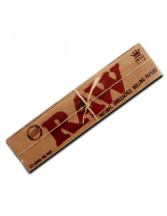 RAW slim King Size bibułki Unbleached