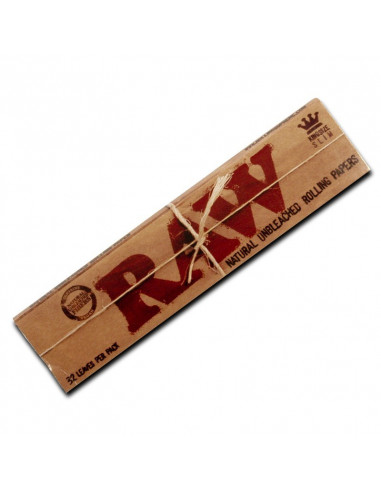 RAW King Size Slim Unbleached tissue papers