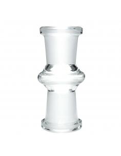 Adapter to fajki wodnej 14 mm żeński na 14 mm żeński