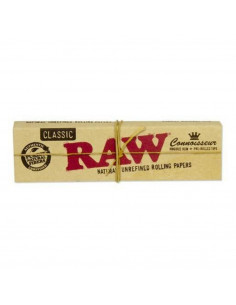 RAW Connoisseur King Size Slim bibułki z filterkami