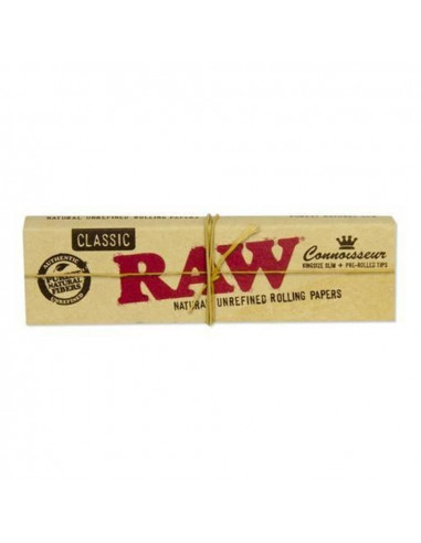 RAW Connoisseur King Size Slim tissue papers with filters