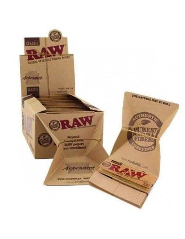 Raw Artesano King Size Slim bibułki z...