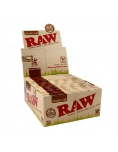 Bibułki RAW ORGANIC HEMP King Size Slim BOX 50 szt.