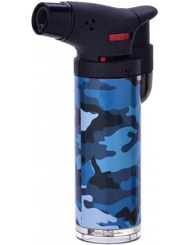 Zapalniczka żarowa Prof Camouflage Easy Torch 4 kolory niebieska