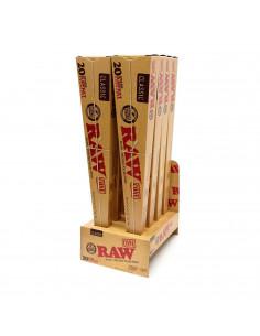 Bibułki RAW Cone 20 Stage Rawket gotowe stożki 5 rozmiarów