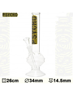 Bongo Psycho Bouncer Glass wys. 26 cm szlif 14.5 mm