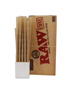 Bibułki RAW Prerolled Cone King Size box 800 szt.