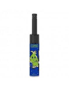 Zapalarka Clipper Minitube wzór WEED COGGOLOS niebieski