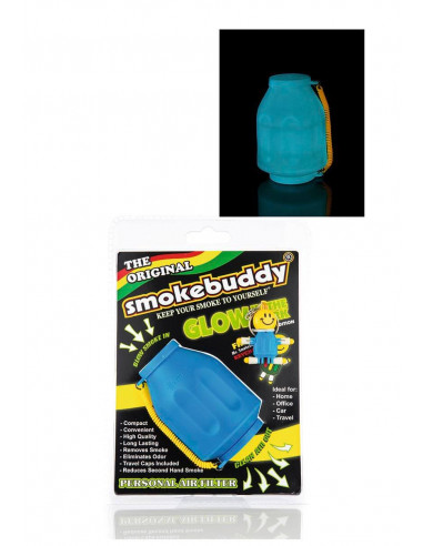 Smokebuddy Glow - Personal filter for air and scents that glow in the dark