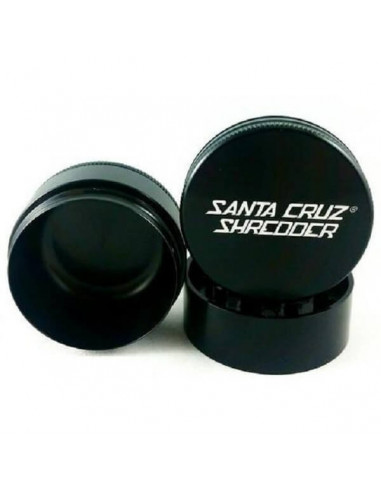 Santa Cruz Shredder 3-part grinder MEDIUM Grinder for dried PREMIUM
