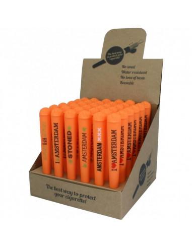 Joint Holder Pine - Pojemniczek na jointa pomarańczowy 6 wzorów