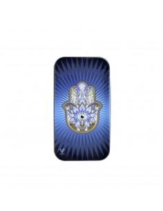 Metalowy schowek Syndicase Tin Box HAMSA BLUE
