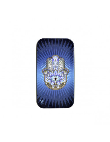 Metalowy schowek Syndicase Tin Box HAMSA BLUE
